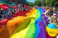 Фестиваль воскресенье 30-ое июнь 2018 гордости Дублина Город Дублина даже стоковые фотографии rf