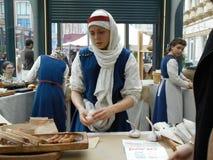 Фестиваль времен и хлебопекарни эпох 2 стоковое фото