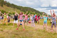 Фестиваль Все-России песни ` s автора названной после Valery Grushin стоковая фотография rf