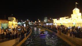 Фестиваль Дубай покупок глобальной деревни ежегодный видеоматериал