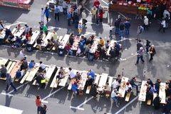 Фестиваль еды улицы Стоковое Изображение RF