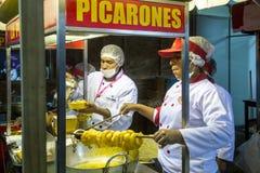 Фестиваль еды Mistura в Лиме стоковое фото