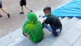 Фестиваль жары 1 цветов стоковые изображения