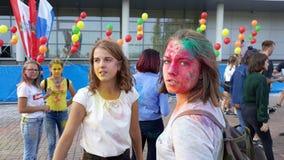 Фестиваль жары 2 цветов стоковые изображения rf