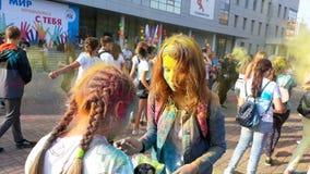 Фестиваль жары 4 цветов стоковое изображение rf