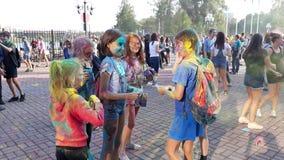 Фестиваль жары 6 цветов стоковая фотография rf
