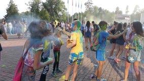 Фестиваль жары 8 цветов стоковые изображения rf