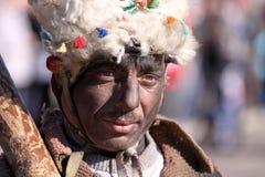 Фестиваль игр Surova Masquerade в Pernik, Болгарии Стоковое Фото