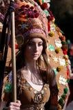 Фестиваль игр Surova Masquerade в Pernik, Болгарии Стоковое Изображение