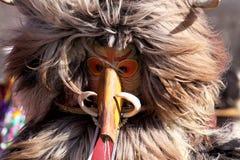 Фестиваль игр Surova Masquerade в Pernik, Болгарии Стоковые Фотографии RF