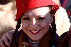 Фестиваль игр Surova Masquerade в Pernik, Болгарии Стоковая Фотография RF
