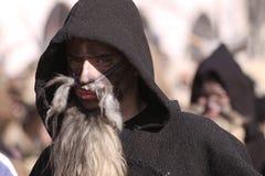 Фестиваль игр Surova Masquerade в Pernik, Болгарии Стоковые Изображения