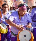 Фестиваль 2018 парада Khon животиков Phi Стоковое Изображение