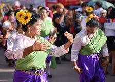 Фестиваль 2018 парада Khon животиков Phi Стоковое Фото