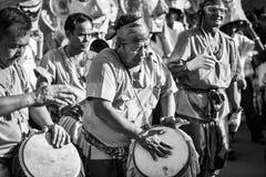 Фестиваль 2018 парада Khon животиков Phi Стоковые Фото