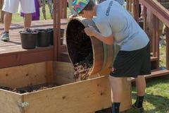 Фестиваль сбора толкотни вина в Carlton Орегоне Стоковые Фотографии RF