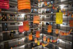 фестиваль Средний-осени в Гонконге стоковое фото