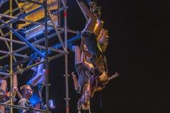 Фестиваль уличного театра в Кракове 2018 Стоковая Фотография RF