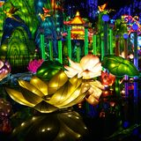 Фестиваль фонарика в ¼ Œ Китае Zigongï Стоковая Фотография