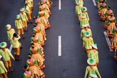 Фестиваль 2017 Aliwan, город Pasay, Филиппины стоковое изображение