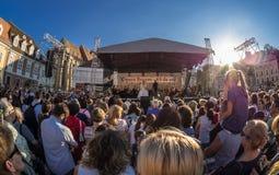 Фестиваль Brasov оперы Стоковая Фотография