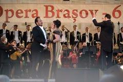 Фестиваль Brasov - Румыния оперы Стоковое Фото