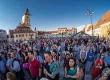 Фестиваль Brasov - Румыния оперы Стоковые Фото