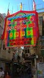 Фестиваль Cheung Chau Da Jiu, Гонконг стоковые изображения rf