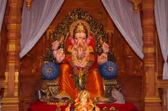 Фестиваль decoration-2 лорда Ganesh Стоковое Изображение