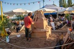Фестиваль Tollwood в Мюнхене Стоковое Фото