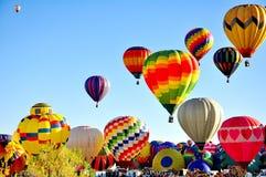 Фестиваль воздушного шара Альбукерке в Неш-Мексико Стоковые Изображения RF