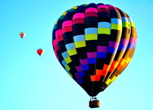 Фестиваль воздушного шара Альбукерке в Неш-Мексико Стоковые Фотографии RF