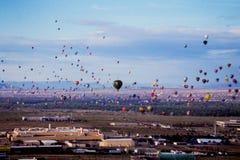 Фестиваль воздушного шара Альбукерке горячий Стоковое Изображение