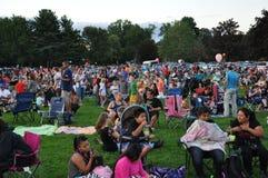 Фестиваль 2015 воздушного шара пожарной команды Plainville (CT) горячий Стоковые Фото