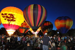 Фестиваль 2015 воздушного шара пожарной команды Plainville (CT) горячий Стоковое Фото