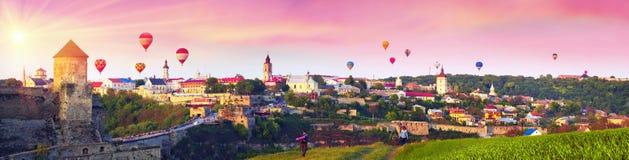 Фестиваль воздушных шаров Стоковая Фотография RF