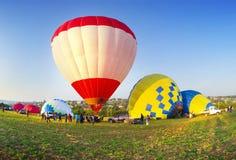 Фестиваль воздушных шаров Стоковое Изображение