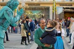 Фестиваль в октябре 2013 раскрывая 21.09.2013 Стоковые Фотографии RF