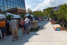 Фестиваль в парке, Roanoke, Вирджиния, США Стоковые Изображения
