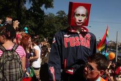 Фестиваль гомосексуалиста гордости Праги Стоковые Изображения