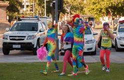 Фестиваль 2012 гордости пиршества Аделаиды Стоковые Изображения