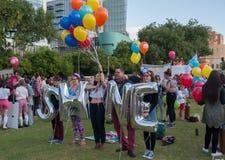 Фестиваль 2015 гордости пиршества Аделаиды Стоковая Фотография RF