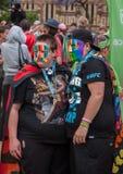Фестиваль 2014 гордости пиршества Аделаиды Стоковое фото RF