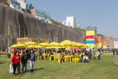 Фестиваль 2015 еды Mistura в Лиме, Перу стоковое изображение