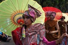 Фестиваль зонтика Стоковое Изображение