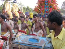Фестиваль Индии Кералы Стоковая Фотография
