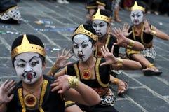 Фестиваль искусств в Yogyakarta, Индонезии стоковые фотографии rf