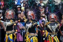 Фестиваль искусств в Yogyakarta, Индонезии стоковая фотография rf