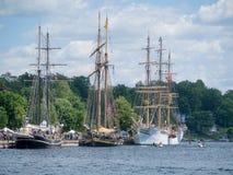 Фестиваль 4 кораблей Brockville высокорослый Стоковые Фотографии RF