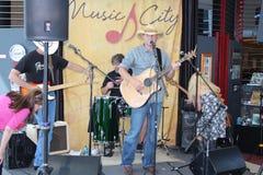 Фестиваль музыки кантри Cma в nashville стоковое фото rf